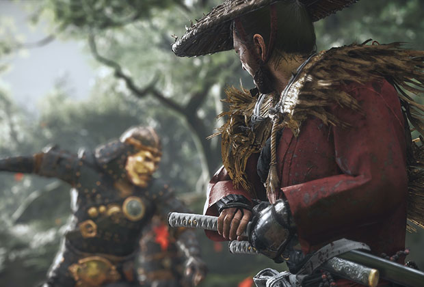 Thumbnail of Master of the Katana: Melee Combat in Ghost of Tsushima by Chris Zimmerman(Sucker Punch),(Game Developers Conference 2021)