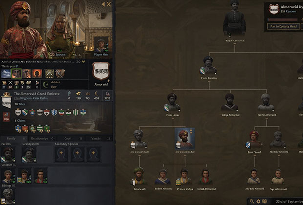 Thumbnail of Creating a Portrait System Based on DNA for 'Crusader Kings III' by Igor Aleksandrowicz(Paradox Development Studio),(Game Developers Conference 2021)